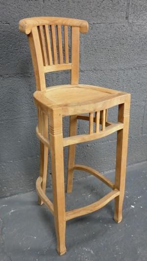 Chaises hautes tabourets la maison du teck meuble et - La maison du tabouret ...