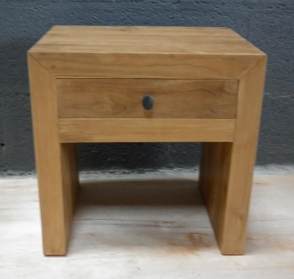 chevets la maison du teck meuble et d co en teck. Black Bedroom Furniture Sets. Home Design Ideas
