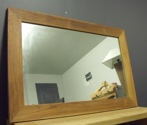Miroirs miroirs d coration teck for Miroir salle de bain teck