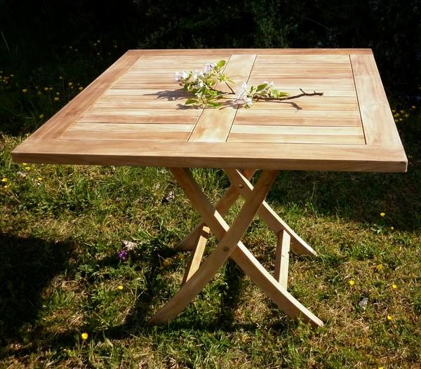 TABLES De JARDIN  La Maison du Teck  Meuble et Déco en teck