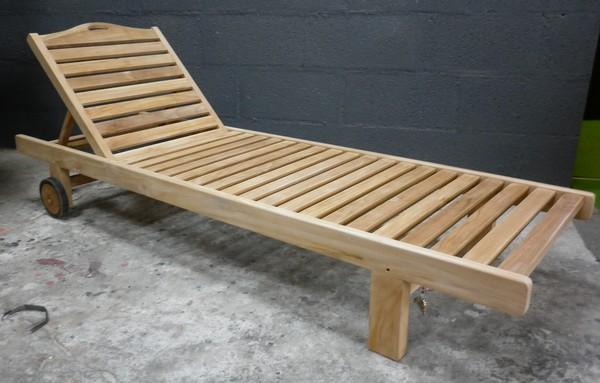 chaises longues la maison du teck meuble et d co en teck. Black Bedroom Furniture Sets. Home Design Ideas