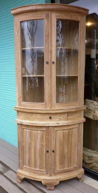 bibliotheque vitrine la maison du teck meuble et. Black Bedroom Furniture Sets. Home Design Ideas